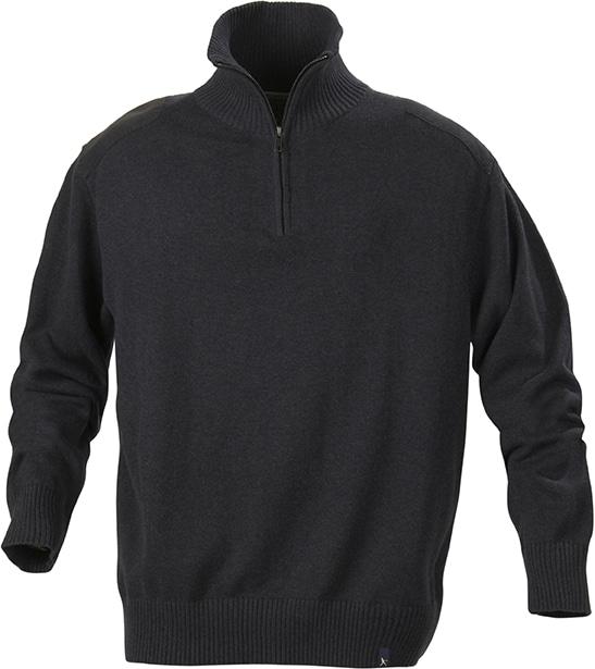Odzież reklamowa - Swetry - HARVEST - LARGO - kolor GREY MELANGE
