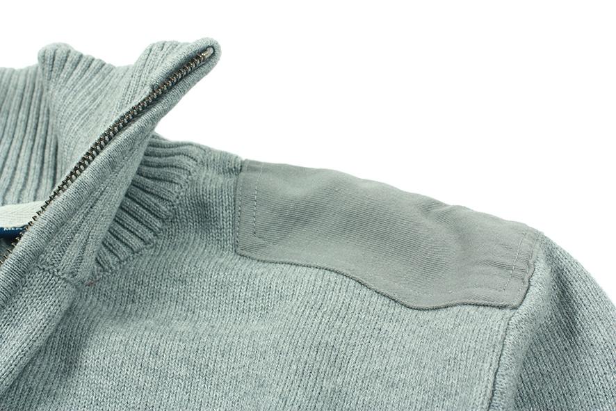 Odzież reklamowa - Swetry - HARVEST - LARGO - kolor NAVY MELANGE